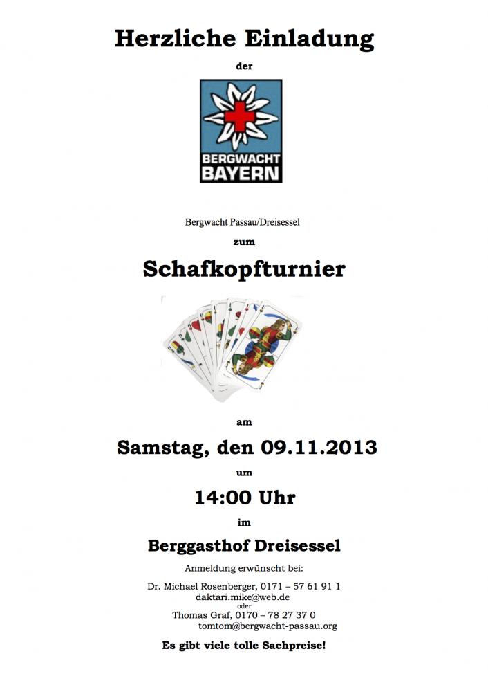 Schafkopfturnier BW 11-13